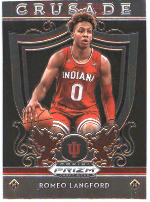 2019 Prizm Draft Picks CRUSADE #99 Romeo Langford RC Indiana University