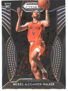 2019 Prizm Draft Picks Basketball #82 Nickeil Alexander-Walker Rookie Card VA Tech