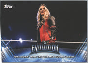 Toni Storm Wrestling Card #WE-6 2019 Topps WWE