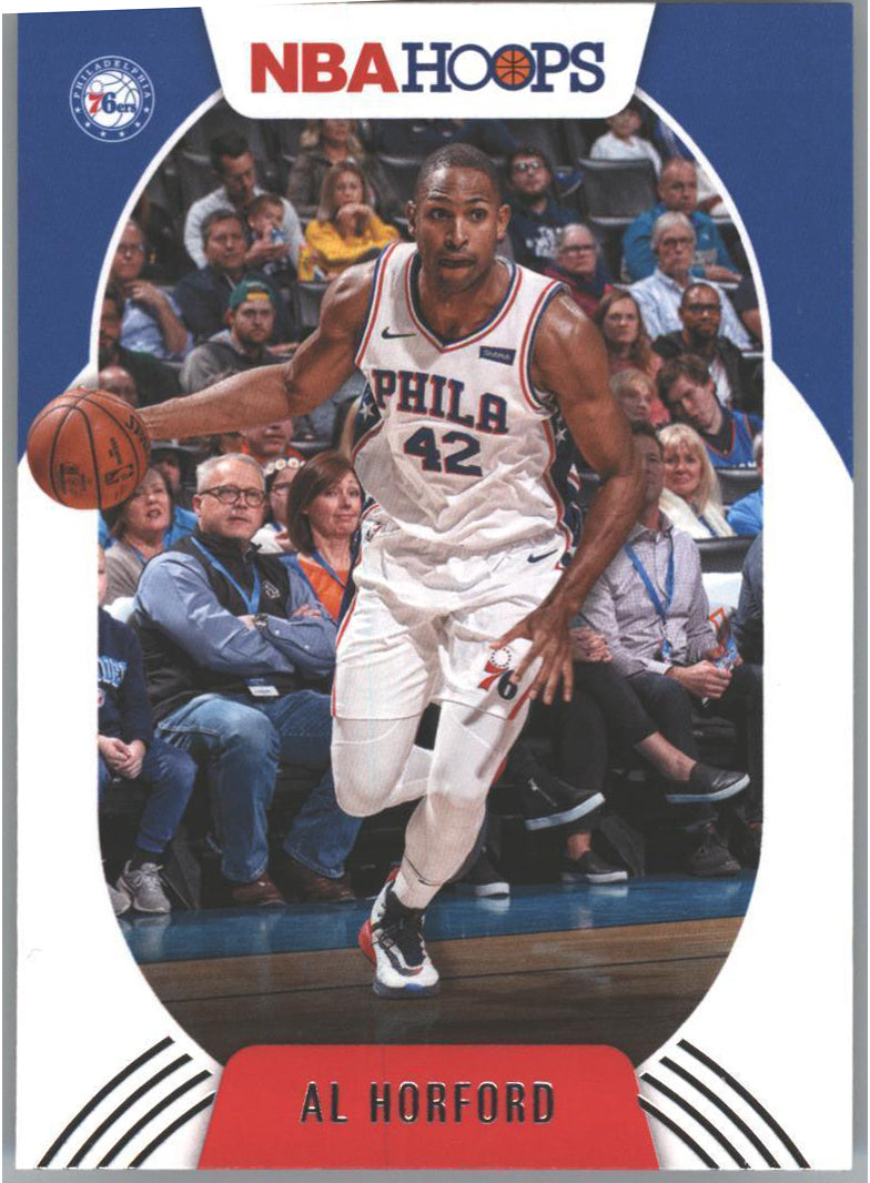 2020-21 Hoops Basketball Al Horford #88 Card 76ers