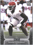 Kenneth Murray Rookie Card #45 2020 Leaf Draft Football Oklahoma