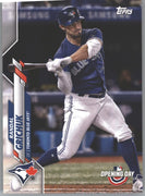 2020 Topps Opening Day Randal Grichuk Card #114 Blue Jays