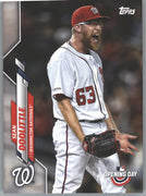 2020 Topps Opening Day Sean Doolittle Card #6 Nationals