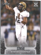 Steven Montez Rookie Card #55 2020 Leaf Draft Football Colorado QB