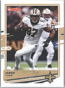 2020 Donruss Football Jared Cook Card #181 New Orleans Saints