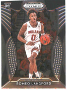#80 Romeo Langford Rookie Card prizm draft picks