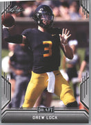 2019 Leaf Draft Football Drew Lock Rookie Card #26