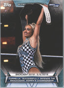 2019 Topps WWE Women's Division Card #71 Smack Live Carmella