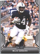 2019 Leaf Draft Football Miles Sanders Rookie Card #56