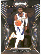 2019 Prizm Draft Picks Basketball #42 Jaylen Nowell Rookie Card Washington