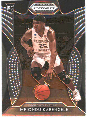 2019 Prizm Draft Picks Basketball #27 Mfiondu Kabengele Rookie Card Florida State