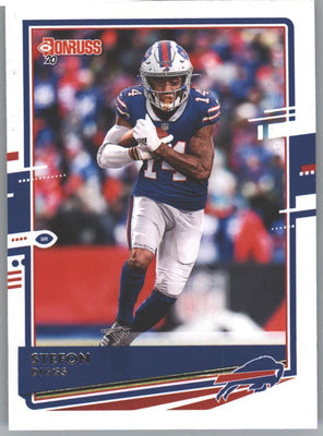 2020 Donruss Football Stefon Diggs Card #46 Bills WR