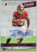 Terry McLaurin Auto RC 2019 Panini Prestige Football No. 277 Redskins