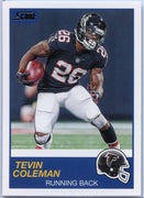 Tevin Coleman 2019 Score Football #245 card