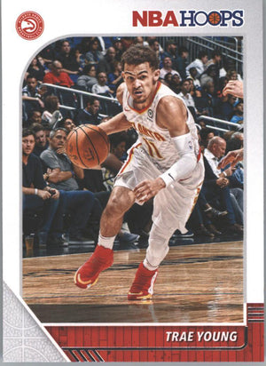 Trae Young #1 Card ATL Hawks 2019-20 NBA HOOPS Basketball