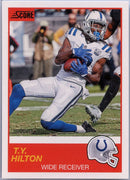 T.Y. Hilton 2019 Score Football #54 Indianapolis Colts