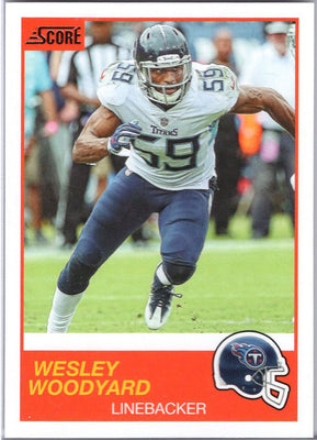 Wesley Woodyard 2019 Score Football #76 Tennessee Titans