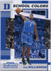 Zion Williamson School Colors Rookie Card 2019 Contenders Draft Picks No. 1 Duke