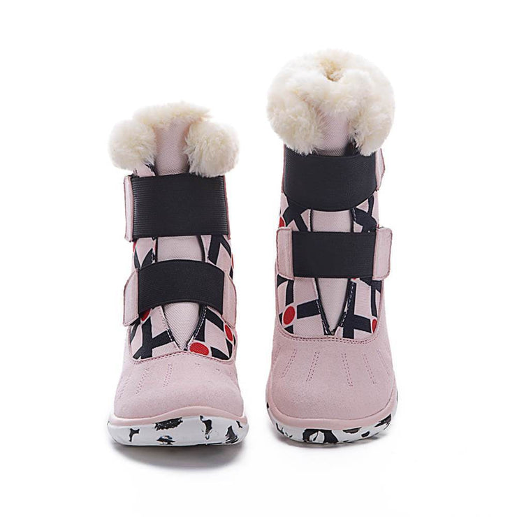 UIN Footwear Kid Ashmole Boots Pink Kids Canvas loafers