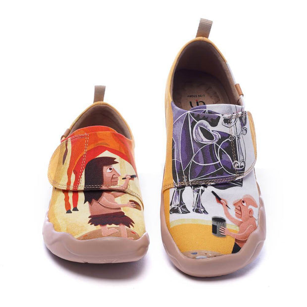 UIN Footwear Kid BEAUTYBULL Kids Art Designed Canvas Shoes (Pre-sale) Canvas loafers