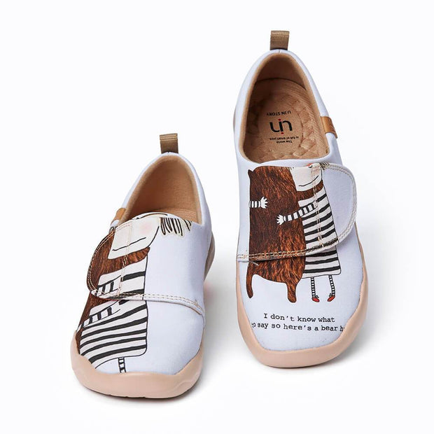 UIN Footwear Kid Best Friends Canvas loafers