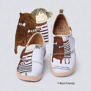 UIN Footwear Kid BEST FRIENDS Kid Canvas loafers