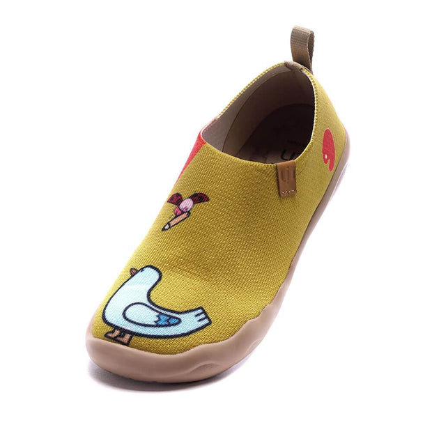 UIN Footwear Kid Cute Friends I Kid Canvas loafers