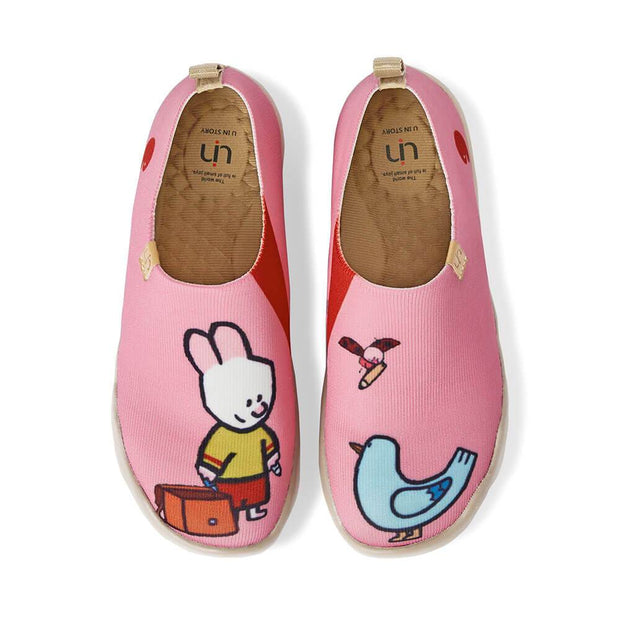 UIN Footwear Kid Cute Friends II Kid Canvas loafers