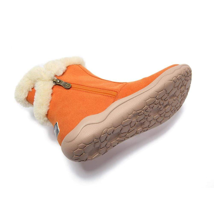 UIN Footwear Kid Hakkar Orange Canvas loafers