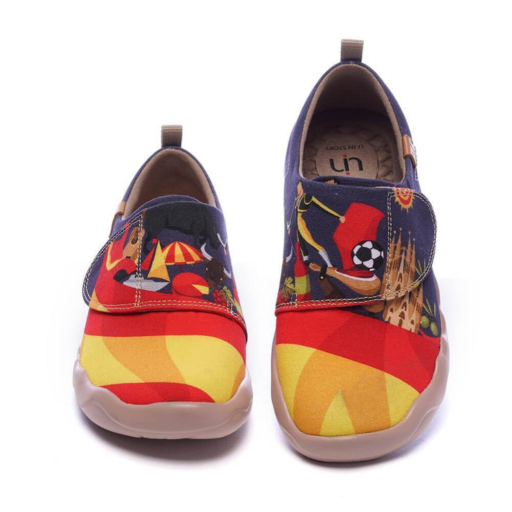 UIN Footwear Kid IBERIA Kid-US Local Delivery Canvas loafers