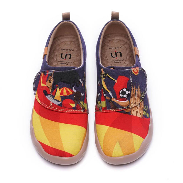 UIN Footwear Kid IBERIA Kids Art Canvas Shoes (Pre-sale) Canvas loafers