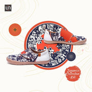 UIN Footwear Kid -Maneki neko- Art Designed kids Fashion Canvas Shoes Canvas loafers