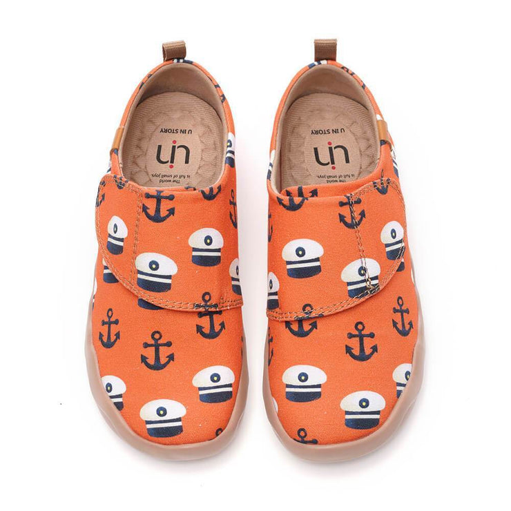 UIN Footwear Kid Sea the World Canvas loafers