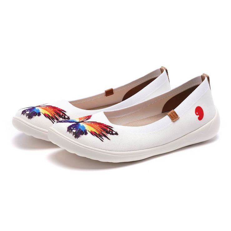 UIN Footwear Kid Sparkling Butterflies Kid Canvas loafers