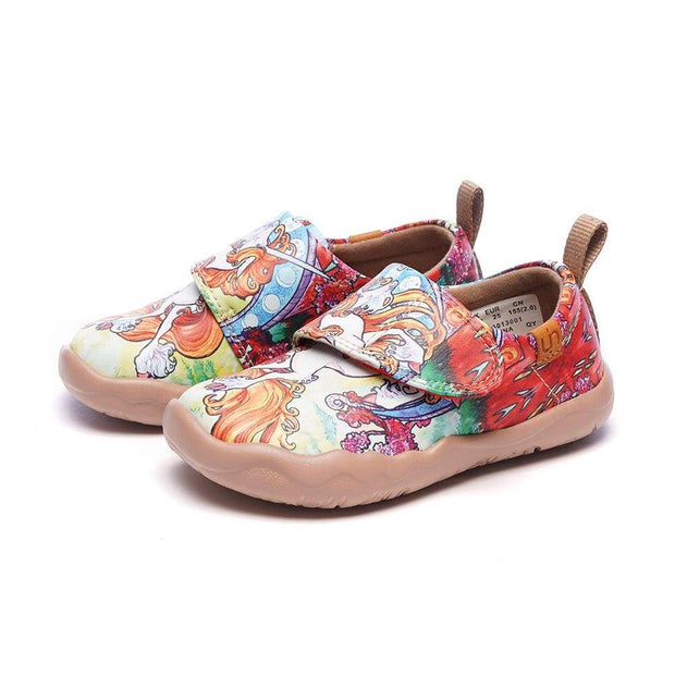 UIN Footwear Kid Unicorn Kid Microfiber Shoes Canvas loafers