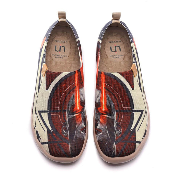UIN Footwear Men Leader of Fire Canvas loafers