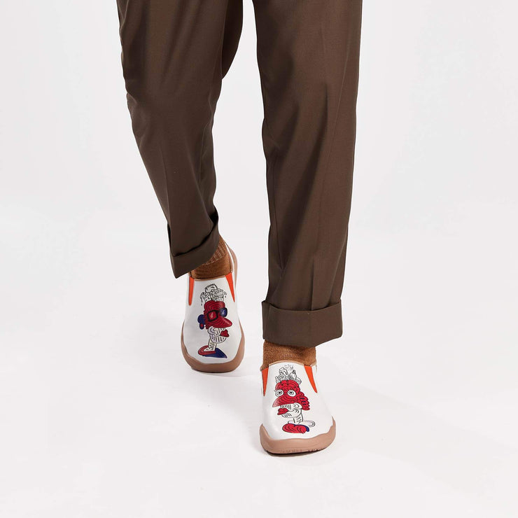 UIN Footwear Men (Pre-sale) This is Our Difference Men Canvas loafers
