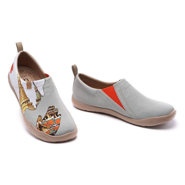 UIN Footwear Men Sawadee II Canvas loafers