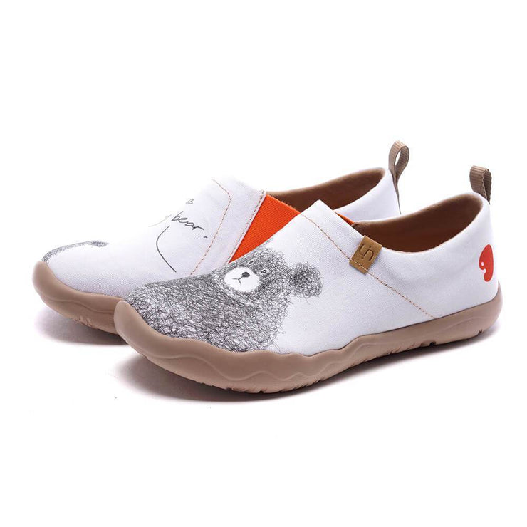 UIN Footwear Women BE WITH YOU Canvas-US Local Delivery Canvas loafers