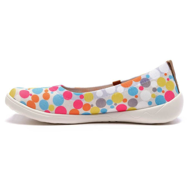 UIN Footwear Women Bubble Kid Canvas loafers