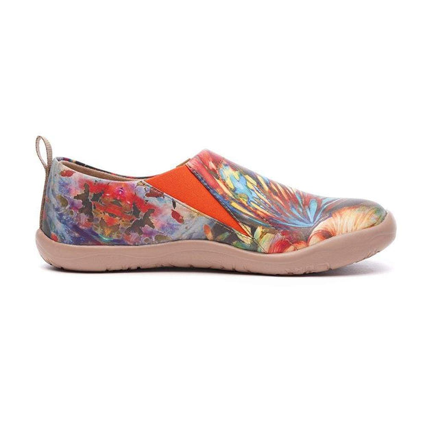 UIN Footwear Women Dreaming Butterfly Fairy Lady Shoes Canvas loafers