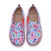 UIN Footwear Women Glittering Variegation Multicolor Canvas Shoes Canvas loafers