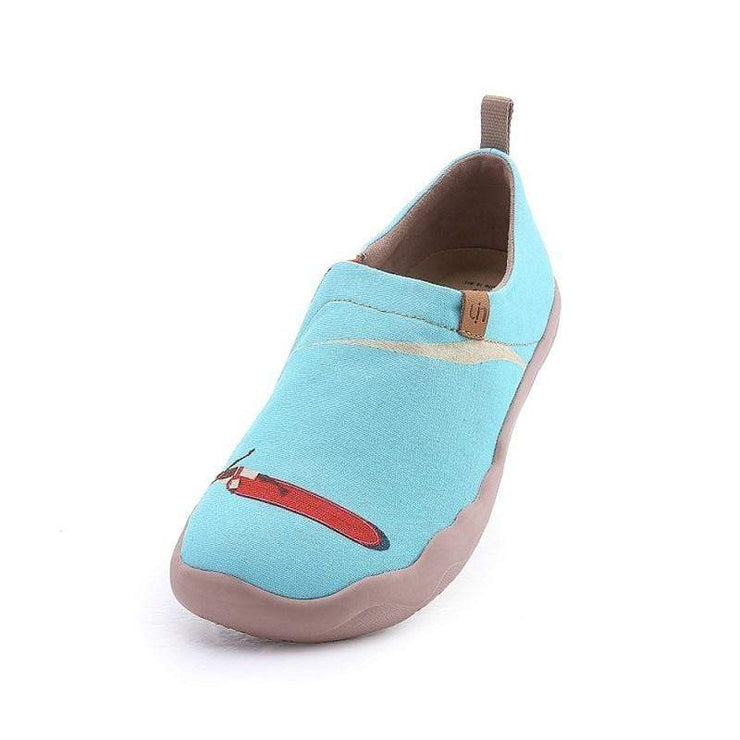 UIN Footwear Women Hawaii Surfing Canvas loafers