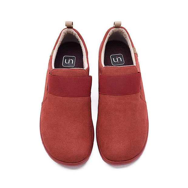 UIN Footwear Women Kakadu Red Canvas loafers