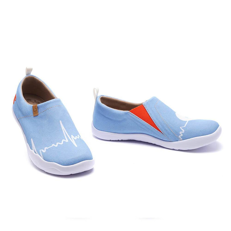 UIN Footwear Women Stand By Me-US Local Delivery Canvas loafers