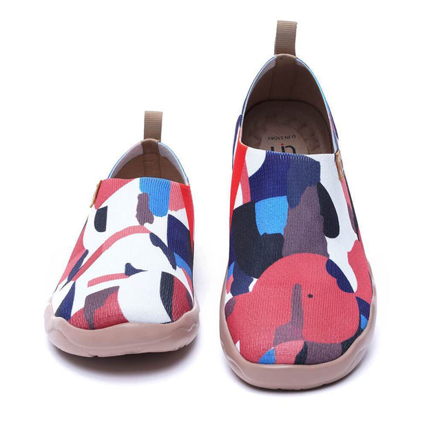 UIN Footwear Women STREET CANVAS Men Art Designed Knitted Shoes (Pre-sale) Canvas loafers