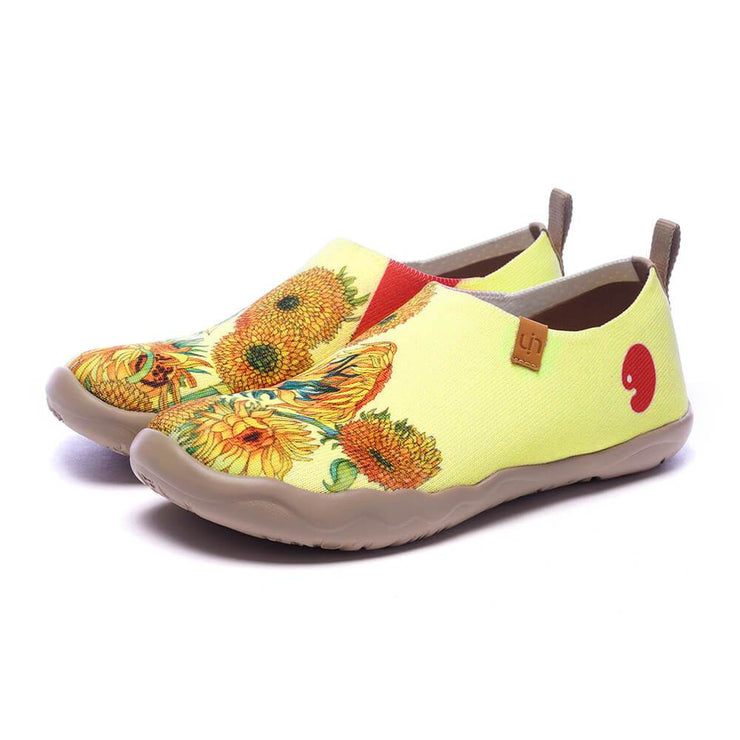 UIN Footwear Women Sunflower Kid Canvas loafers