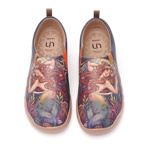 UIN Footwear Women The Little Mermaid Canvas loafers