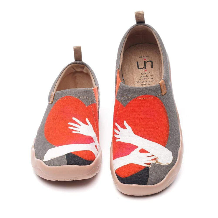 UIN Footwear Women WARM HEART-US Local Delivery Canvas loafers