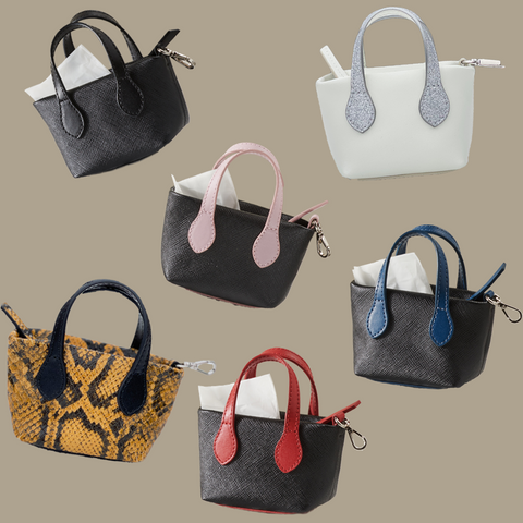Leather clean up purses